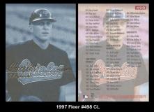 1997 Fleer #498 CL
