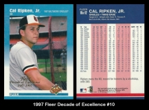 1997 Fleer Decade of Excellence #10