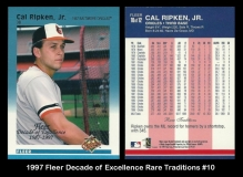 1997 Fleer Decade of Excellence Rare Traditions #10
