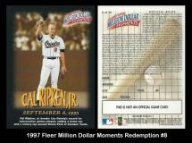 1997 Fleer Million Dollar Moments Redemption #8