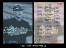 1997 Fleer Tiffany #398 CL