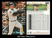 1997 Fleer Tiffany #714