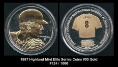 1997 Highland Mint Elite Series Coins #30 Gold