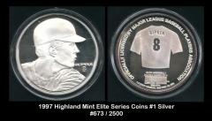 1997 Highland Mint Elite Series Coins #31 Silver