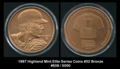 1997 Highland Mints Elite Series Coins #32 Bronze