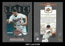 1997 Leaf #188