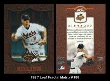 1997 Leaf Fractal Matrix #188