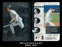 1997 Leaf Get-A-Grip #15