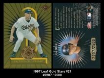 1997 Leaf Gold Stars #21