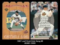 1997 Leaf Knot-Hole Gang #8