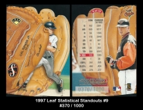 1997 Leaf Statistical Standouts #9