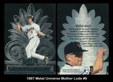 1997 Metal Universe Mother Lode #9