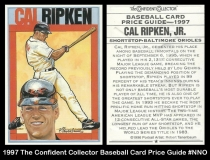 1997 The Confident Collector Baseball Card Price Guide #NNO