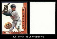 1997 Crown Pro USA Sticker #R5
