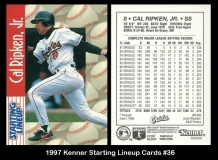 1997 Kenner Starting Lineup Cards #36