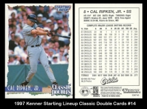 1997 Kenner Starting Lineup Classic Double Cards #14