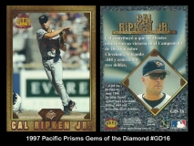 1997 Pacific Prisms Gems of the Diamond #GD16
