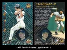 1997 Pacific Prisms Light Blue #12