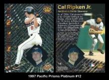 1997 Pacific Prisms Platinum #12
