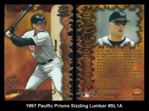 1997 Pacific Prisms Sizzling Lumber #SL1A