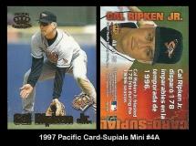 1997 Pacific Card-Supails Mini #4A