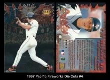 1997 Pacific Fireworks Die Cuts #4