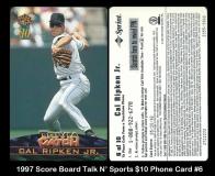 1997 Score Board Talk N Sports $10 Phone Card #6