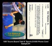 1997-Score-Board-Talk-N-Sports-1000-Phone-Card-Sample-1