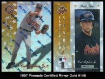 1997 Pinnacle Certified Mirror Gold #146