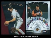 1997 Pinnacle Certified Red #28