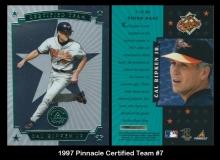 1997 Pinnacle Certified Team #7
