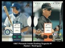 1997 Pinnacle Inside Dueling Dugouts #1