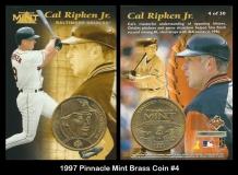 1997 Pinnacle Mint Brass Coin #4
