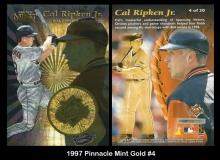 1997 Pinnacle Mint Gold #4