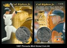 1997 Pinnacle Mint Nickel Coin #4