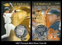 1997 Pinnacle Mint Silver Coin #4
