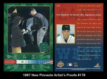 1997 New Pinnacle Artists Proofs #178
