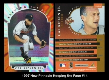 1997 New Pinnacle Keeping the Pace #14