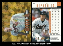 1997 New Pinnacle Museum Collection #91