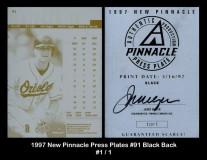 1997-New-Pinnacle-Press-Plates-91-Black-Back