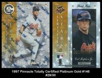 1997 Pinnacle Totally Certified Platinum Gold #146