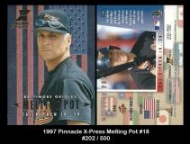 1997 Pinnacle X-Press Melting Pot #18