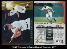 1997 Pinnacle X-Press Men of Summer #57