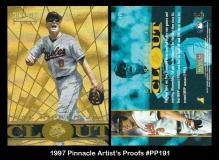 1997 Pinnacle Artists Proofs #PP191