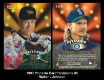 1997 Pinnacle Cardfrontations #3
