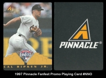 1997 Pinnacle Fanfest Promo Playing Card #NNO