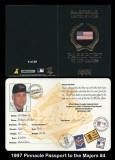 1997 Pinnacle Passport to the Majors #4