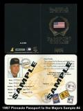 1997 Pinnacle Passport to the Majors Sample #4