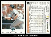 1997 Score Artists Proofs #151
