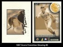 1997 Score Franchise Glowing #3